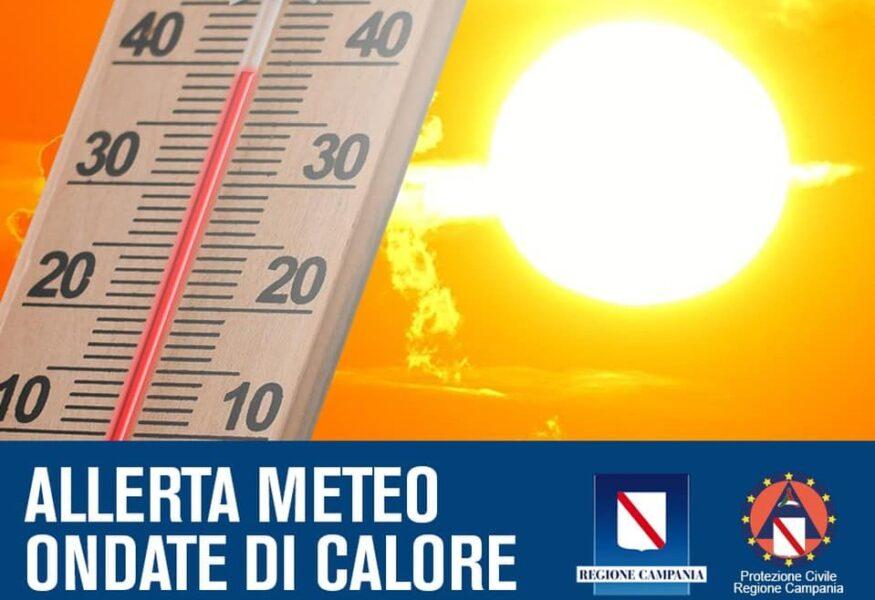 Criticità per ondate di calore da martedì 27 luglio a domenica 1 agosto